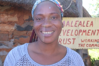 Manthabiseng Mokala - Office Administrator and Bookkeeper, photo by Kelly Benning