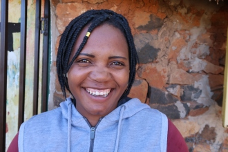 Matsepo Lebitsa - Fieldworker, photo by Kelly Benning
