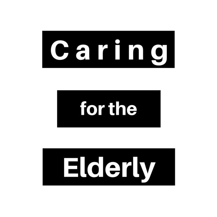 (N) Caring for the Elderly